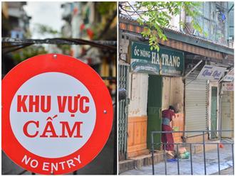 Hà Nội: Thêm nhiều địa điểm bị phong tỏa vì Covid-19