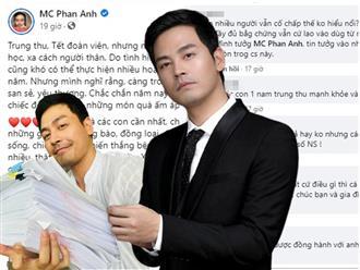 Hậu sao kê, MC Phan Anh 'thừa thắng xông lên', được CĐM 'bảo kê', đáp trả thay khi bị antifan xỉa xói 'đạo đức giả'