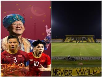 UAE tiếp tục chọn 'thánh địa' Zabeel vì một niềm tin bí ẩn, người hâm mộ Việt Nam vẫn tự tin vào thầy trò ông Park