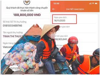 Hết sao kê bản cứng, lại đăng cả bản mềm, Thủy Tiên vẫn bị netizen 'bới lông tìm vết': Soi được cả danh tính người chuyển 188 triệu sau 9 ngày đóng tài khoản