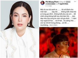 Sau 7749 câu phân tích cái sai trong vụ Hồ Văn Cường, Hoa hậu Phương Lê khẳng định: 'Phi Nhung đang bị quả báo'