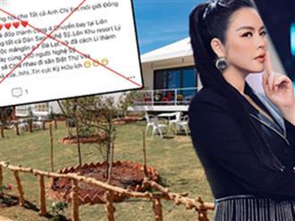 Lý Nhã Kỳ phản ứng gắt, tiết lộ cái kết của kẻ tung tin cô thuê máy bay đưa 350 nghệ sĩ đi nghỉ dưỡng mùa dịch ở Đà Lạt
