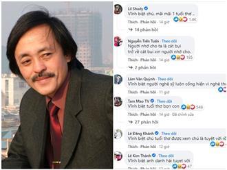 Nghệ sĩ Giang Còi qua đời, người hâm mộ rưng rưng nước mắt vì dòng trạng thái lạ: 'Sống dài ngắn không quan trọng'