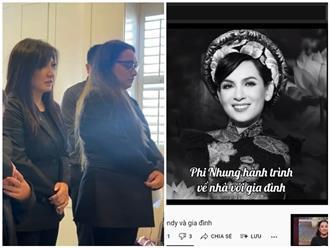 Người hâm mộ xót xa nhìn lại hành trình đón Phi Nhung về nhà với gia đình, vợ cũ Bằng Kiều sụt sùi nước mắt, hứa sẽ giải oan cho cố ca sĩ