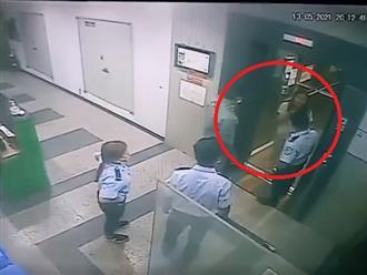 Người phụ nữ ghê gớm nhất hệ mặt trời,  'cố thủ' trong thang máy, đòi tát cả bảo vệ khi bị yêu cầu mang khẩu trang y tế