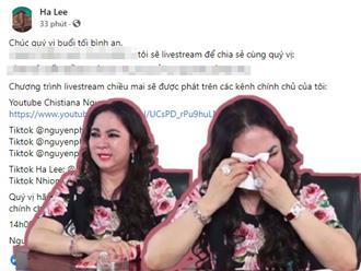 Nữ đại gia đổi 'giờ LÀNH' livestream, thông báo NÓNG vụ hành hung gây xôn xao cõi mạng suốt nhiều ngày qua