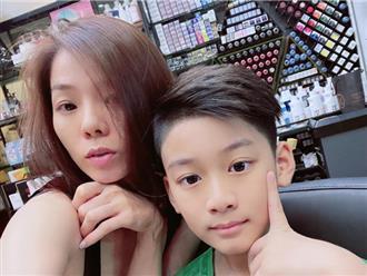 Ở Hà Nội cùng tình trẻ suốt mấy tháng, lý do gì khiến Lệ Quyên không dám nói nhớ con trai?