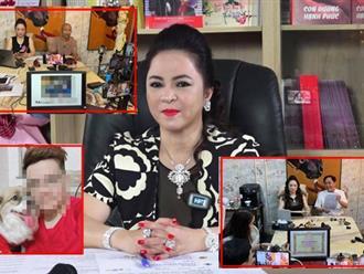 Tuyên bố 'một mình chấp hết' nhưng thực tế, có một 'thế lực ngầm' đứng sau hàng loạt livestream 'gây đảo lộn Vbiz' của bà Phương Hằng