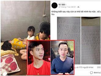 Phan Văn Đức, Trương Quốc Anh 'tức tốc' gửi tiền ủng hộ người phụ nữ mắc bệnh hiểm nghèo ở Nghệ An sau bức tâm thư 'tạm biệt' 2 con