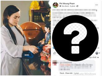 Quản lý Fanpage tiếp tục cập nhật tình hình của Phi Nhung, không quên nhắn nhủ cư dân mạng một điều
