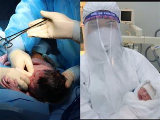 Con gái sản phụ mắc Covid-19 có tình trạng suy hô hấp khi chào đời, sức khỏe hiện ổn định