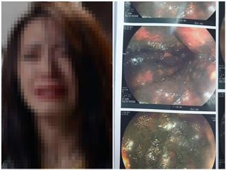 Sau mâu thuẫn gia đình, người phụ nữ Hà Nội uống chai nước tẩy rửa bồn cầu khiến dạ dày ăn mòn khủng khiếp