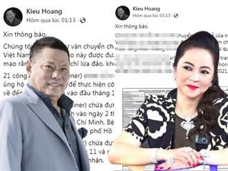 Sau thời gian 'lơ đẹp' lời đề nghị 10 triệu đô của bà Phương Hằng, Hoàng Kiều 'lộ diện' gửi về Việt Nam thứ này, CĐM ngỡ ngàng vì quá 'trùng hợp'