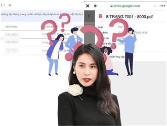Thánh 'soi' tiếp tục phát hiện 'nghi vấn' trong sao kê của Thủy Tiên: Có 'lịch sử chỉnh sửa' trước 1 ngày ra ngân hàng, netizen 'chỉ điểm' 'thế lực' nhúng tay vào?