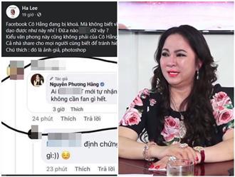 Thông báo tạm khóa Facebook đã lâu, tài khoản Nguyễn Phương Hằng bất ngờ mọc lên như 'nấm' sau mưa