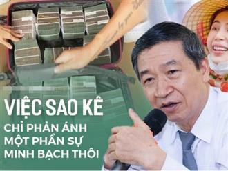 Đại tá, luật sư Lê Ngọc Khánh: 'Bà Phương Hằng nêu nghi vấn về từ thiện chưa được minh bạch là tốt, nhưng soi mói quá sâu vào đời tư nghệ sĩ'