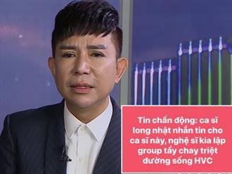 Rầm rộ tin Long Nhật lập group tẩy chay, quyết 'triệt đường sống' của Hồ Văn Cường: Chính chủ nói gì?