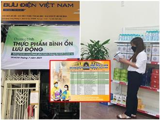 TP.HCM: Hơn 200 điểm bán hàng thiết yếu và bình ổn giá cho người dân tại các bưu điện