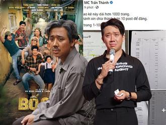 NÓNG: Trấn Thành bị điều tra vụ từ thiện, Cục trưởng Cục Điện ảnh tuyên bố thẳng về 'số phận' của 'Bố già' tại LHP Việt Nam 2021