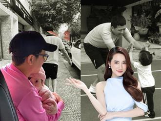 Trường Giang lần đầu tung ảnh 'full HD' của ái nữ, CĐM vội chúc mừng Nhã Phương thoát 'hội đẻ thuê' vì một chi tiết