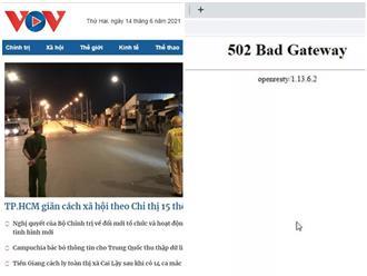 Vụ báo điện tử VOV bị tấn công mạng: Bộ Công an vào cuộc điều tra, làm rõ