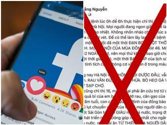 Chủ tài khoản 'Hằng Nguyễn' bị Sở TT&TT TP.HCM mời làm việc vì đăng nội dung gây hoang mang