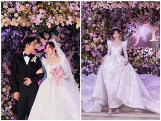 Ấn tượng với những hình ảnh đẹp như mơ từ hôn lễ của Đường Yên – La Tấn
