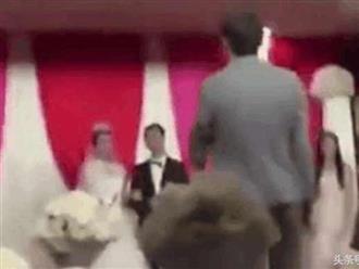 Bạn trai cũ định cướp dâu trong ngày cưới, phản ứng bất ngờ của cô dâu nhận cơn mưa lời khen từ cộng đồng mạng