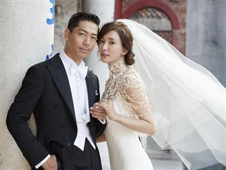 'Bom sex xứ Đài' Lâm Chí Linh lung linh trong ngày cưới