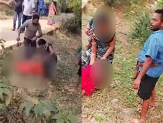 Clip: Không chịu đưa của hồi môn, cô gái 24 tuổi bị người nhà chồng dùng gậy tre đánh đập dã man