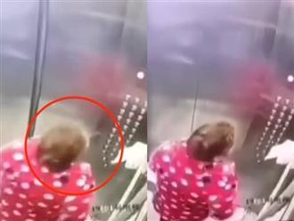 Cố tình nhổ nước bọt lên nút bấm thang máy, người phụ nữ bị cảnh sát bắt giam