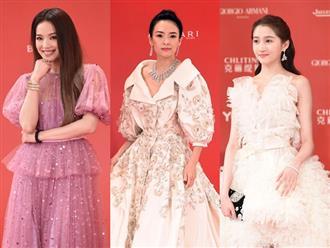 Dàn mỹ nhân Hoa ngữ đọ sắc trên thảm đỏ Liên hoan phim Thượng Hải 2019