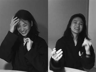 Nụ cười rạng rỡ đầu tiên của Song Hye Kyo sau 4 tháng ly hôn