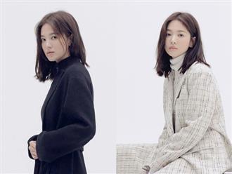 Lấy lại thần thái thiếu nữ nhưng sao ánh mắt của Song Hye Kyo lại đầy u uất thế này?