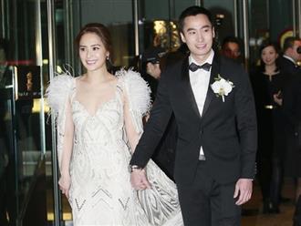 Mới kết hôn nửa năm, Chung Hân Đồng và chồng kém 8 tuổi đã không còn hạnh phúc