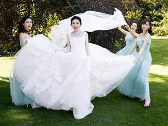 Nhan sắc cực phẩm của dàn phù dâu, phù rể trong hôn lễ Đường Nghệ Hân và Trương Nhược Quân