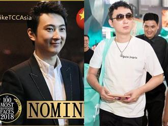 Thiếu gia lắm tiền Vương Tư Thông lọt top 100 người có gương mặt đẹp trai nhất Châu Á