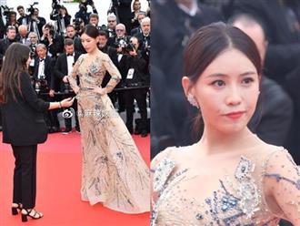 Sao Hoa ngữ bị đuổi khỏi thảm đỏ Cannes 2019 nhưng vẫn cố làm ra vẻ không hiểu vì bất đồng ngôn ngữ