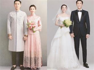 Hé lộ những hình ảnh đầu tiên về hôn lễ của Đường Nghệ Hân và Trương Nhược Quân