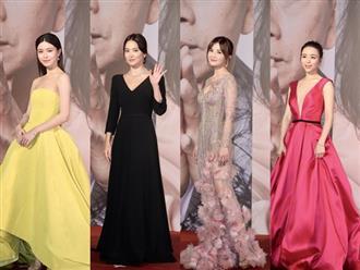 Song Hye Kyo nhạt nhòa giữa dàn mỹ nhân Hoa ngữ tại lễ trao giải Kim Tượng