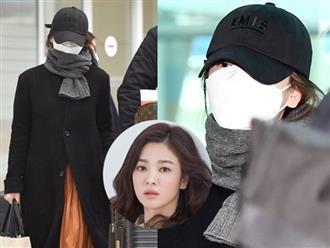 Song Hye Kyo vội trở về Hàn Quốc giữa lúc dịch Covid-19 đang hoành hành
