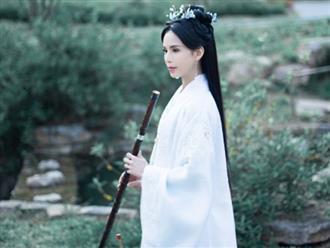 'Tiểu Long Nữ' Lý Nhược Đồng tao nhã và khí chất trong trang phục cổ trang
