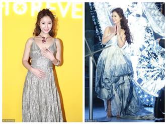 Trang phục 10 ngàn USD của Lâm Tâm Như được ví giống... rèm cửa