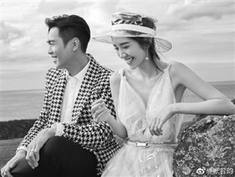 Trương Nhược Quân khoe ảnh cưới ngọt ngào bên Đường Nghệ Hân