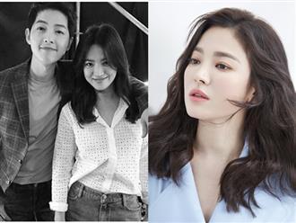 Xót thương con gái, bố Song Hye Kyo khiến dân tình bật khóc với câu nói này