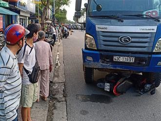 Đà Nẵng: Dừng đèn đỏ, cô gái bị xe tải cán chết thương tâm khi đang đi làm