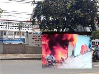 Kon Tum: Người phụ nữ và người đàn ông hàng xóm thương vong trong căn nhà bốc cháy