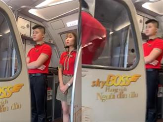 Xôn xao clip chuyến bay Vietjet tiếp tục gặp sự cố ở Nội Bài, tất cả hành khách được yêu cầu xuống máy bay, quay về phòng chờ
