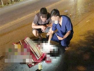 Nam Định: Xót cảnh 2 bà cháu đi xe đạp tử vong thương tâm dưới bánh xe khách