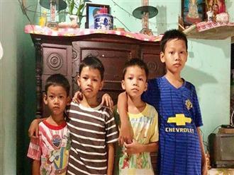 4 đứa trẻ mồ côi cha, ốm trơ xương vì đói ăn bên bà nội già yếu sau khi mẹ bỏ đi lấy chồng mới